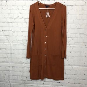 Chadwick Sweater , PM, rust color